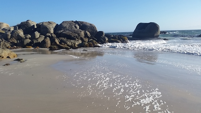 Fisherman's Beach near Seagetaway Simon's Town